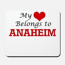 My heart belongs to Anaheim California Mousepad