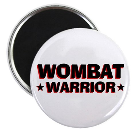 "Wombat Warrior 2.25"" Magnet (100 pack)"