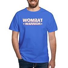 Wombat Warrior Dark Colored T-Shirt