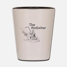 The Rodfather Shot Glass