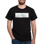 Go green. Vote Democratic. Dark T-Shirt