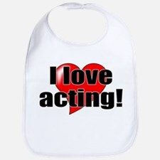 "ThMisc ""I Love Acting"" Bib"