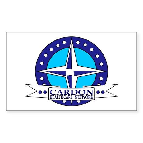 CARDON NOUVEAU Rectangle Sticker