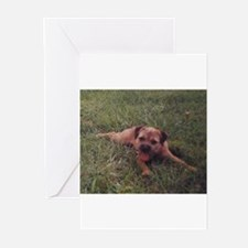 BT puppy Greeting Cards