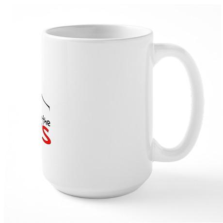 """Running away to join the Cir Large Mug"