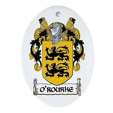O'Rourke Coat of Arms Keepsake Ornament