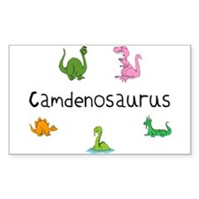 Camdenosaurus Rectangle Decal