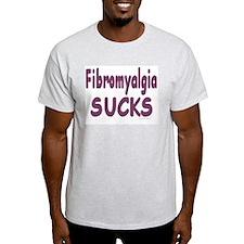 Fibromyalgia Sucks Ash Grey T-Shirt