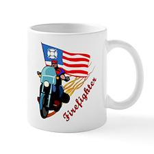 Firefighter Biker Mug