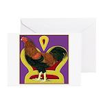 King Chantecler Greeting Cards (Pk of 10)