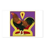 King Chantecler Postcards (Package of 8)
