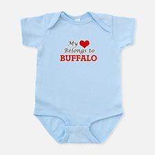 My heart belongs to Buffalo New York Body Suit