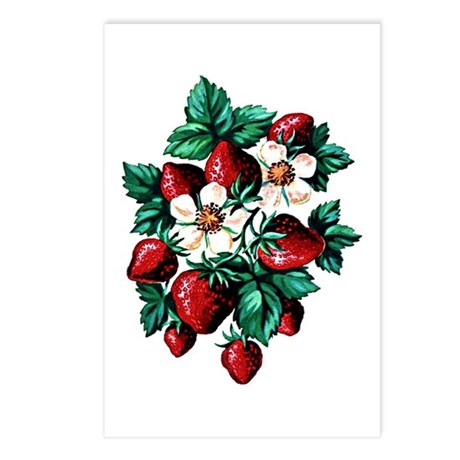 Strawberry Fields - Postcards (Package of 8)