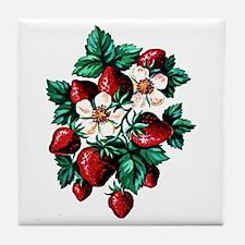 Strawberry Fields - Tile Coaster