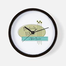 Everybody Loves a Meter Reader Wall Clock