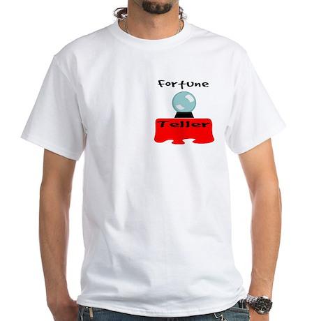 """""""Fortune teller"""" White T-Shirt"""