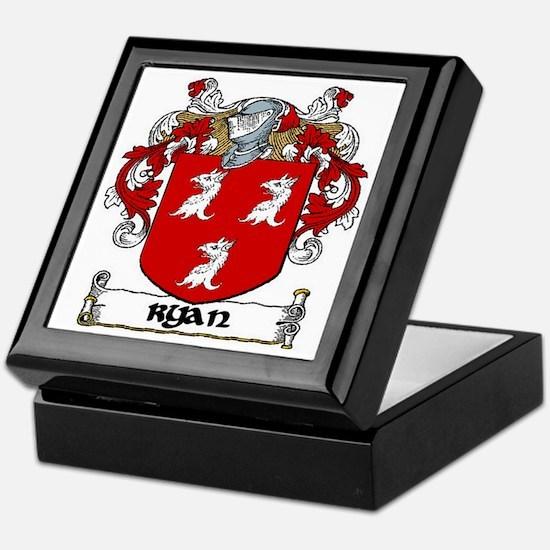Ryan Coat of Arms Keepsake Box