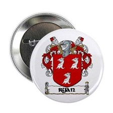 "Ryan Coat of Arms 2.25"" Button (10 pack)"
