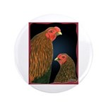 Chantecler Rooster and Hen 3.5