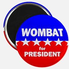 Wombat for President Magnet