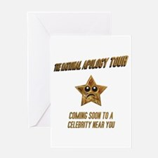 The National Apology Tour Greeting Card