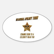 The National Apology Tour Oval Decal