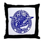 School Seal Throw Pillow