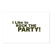 I Like to Rock the Party Postcards (Package of 8)