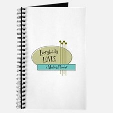 Everybody Loves a Meeting Planner Journal