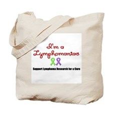 I'm a Lymphomaniac Tote Bag