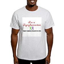I'm a Lymphomaniac T-Shirt