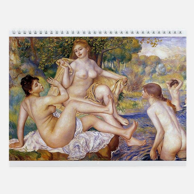 Renoir Nudes Wall Calendar