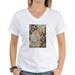 Smith's Ages of Childhood Women's V-Neck T-Shirt
