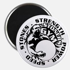 Cute Strongman Magnet