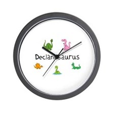 Declanosaurus Wall Clock