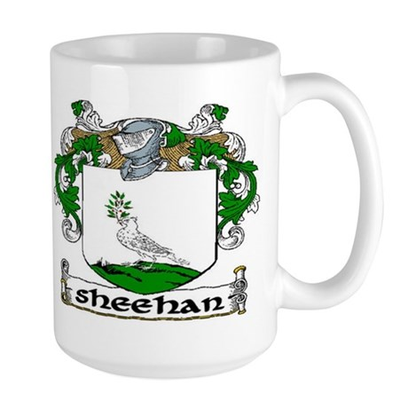 Sheehan Coat of Arms Large Mug
