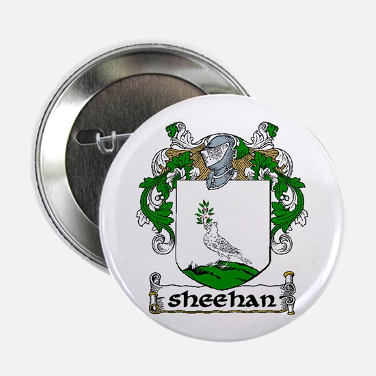"Sheehan Coat of Arms 2.25"" Button (10 pack)"