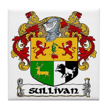 Sullivan Coat of Arms Ceramic Tile