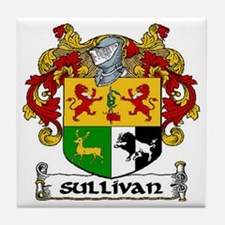 Sullivan Coat of Arms Ceramic Tile