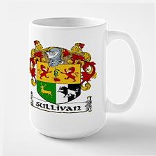 Sullivan Coat of Arms Large Mug