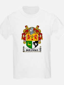 Sullivan Coat of Arms Kids T-Shirt