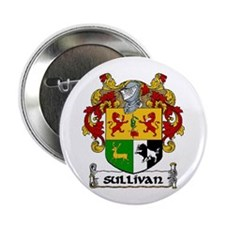 """Sullivan Coat of Arms 2.25"""" Button (10 pack)"""