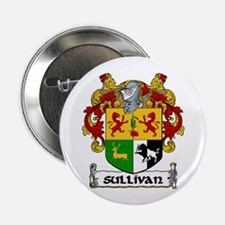 "Sullivan Coat of Arms 2.25"" Button (10 pack)"