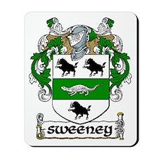 Sweeney Coat of Arms Mousepad