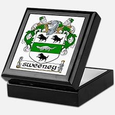 Sweeney Coat of Arms Keepsake Box