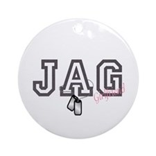 jag girlfriend Ornament (Round)