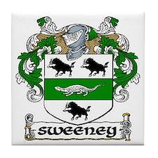 Sweeney Coat of Arms Ceramic Tile