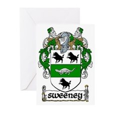 Sweeney Coat of Arms Note Cards (Pk of 10)