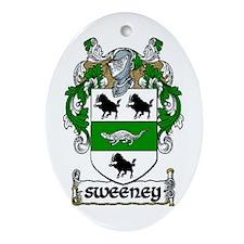 Sweeney Coat of Arms Keepsake Ornament