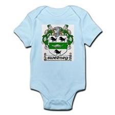 Sweeney Coat of Arms Infant Creeper